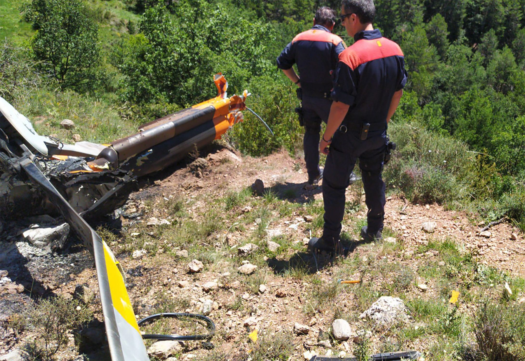 Accident Helicopter Mossos